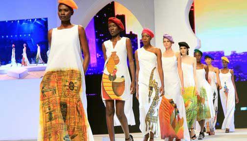 f4ecd17486eaf كبار مصممي الأزياء الأفارقة يقدمون آخر صيحات الموضة الإفريقية بالداخلة  بتألق المغرب